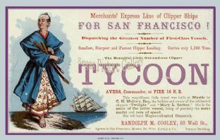 Clipper Ship - Tycoon (Advert)